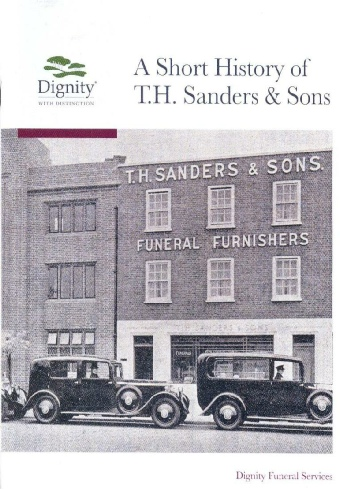 A short history of T H Sanders & Sons by Brian Parsons